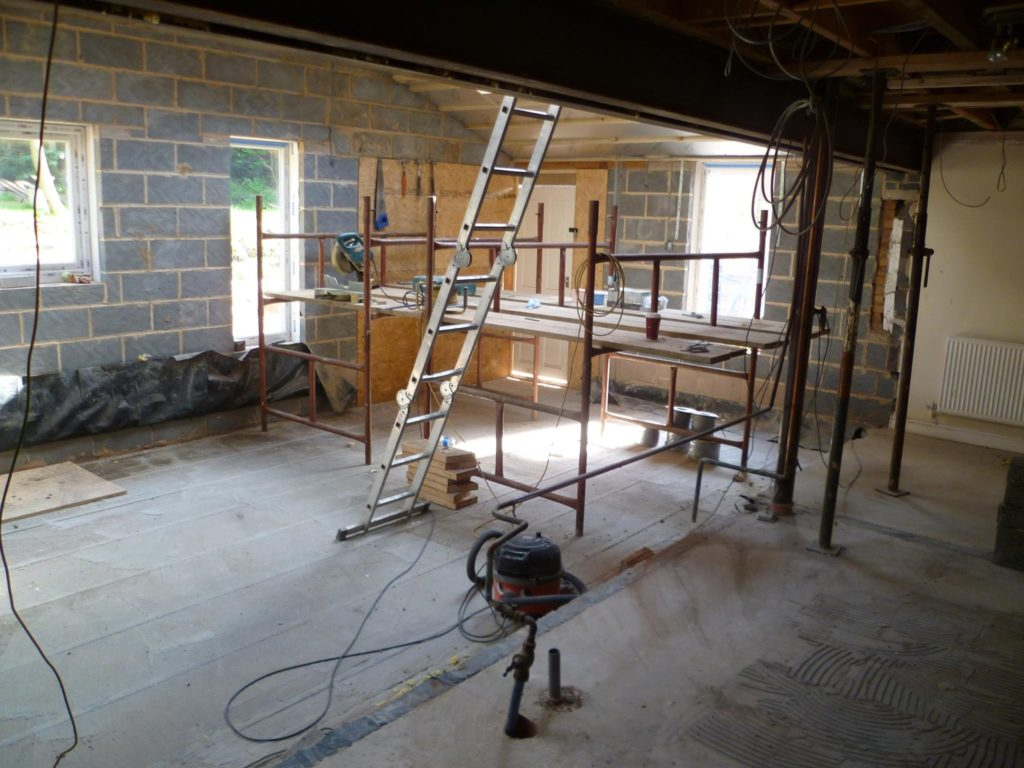 Leicester building extensions building alterations leicester for Bathroom builders leicester