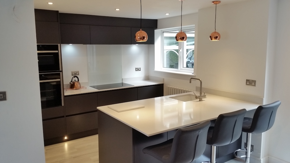 New kitchen design in oadby leicester